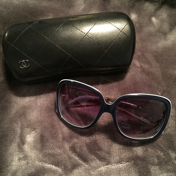 5ded455557d14 CHANEL Accessories - ⭐️HP⭐️Chanel Sunglasses and Case